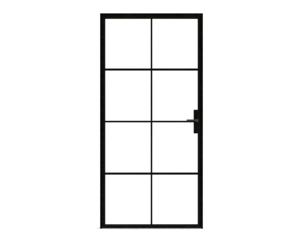 crittall industrial steel glass door